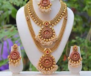 amazon 1 gram gold jewellery price