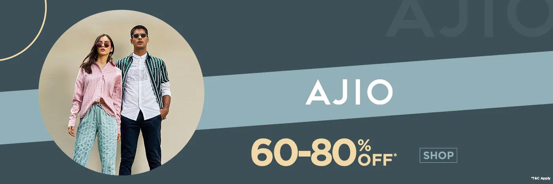 Ajio Active Discount Coupons