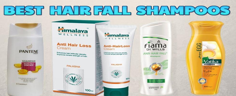 10 Best Shampoos For Hair Fall
