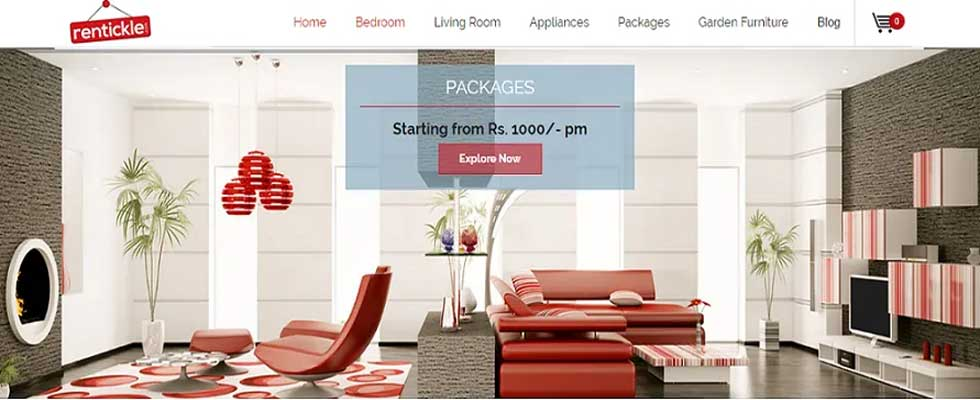 Renting Furniture and Appliance Becomes Affordable Now with Rentickle