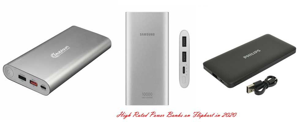 The List of High Rated Power Banks on Flipkart in 2020