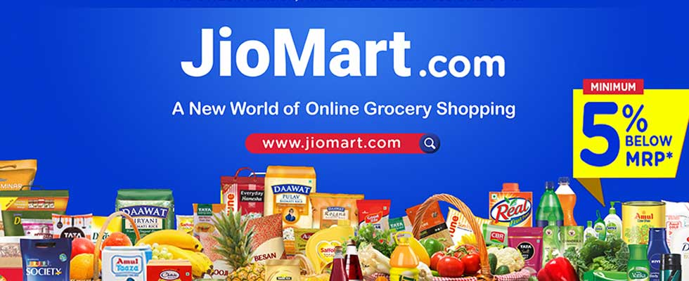 Reliance starts its online grocery shopping - JioMart