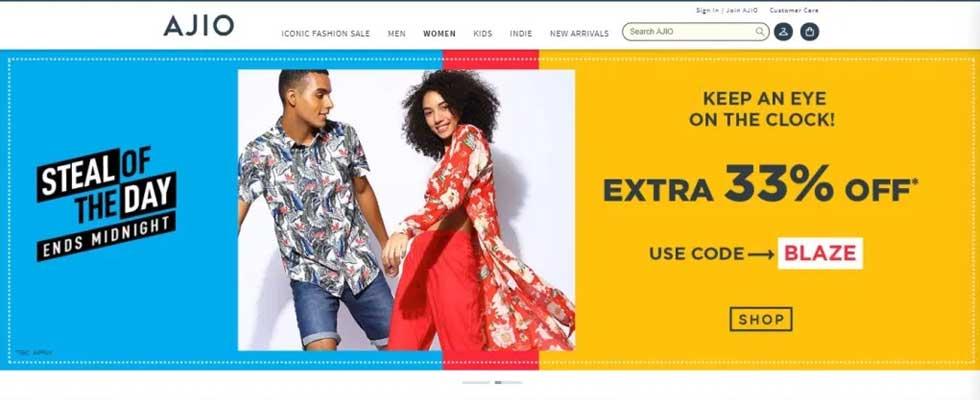 AJIO Online Shopping. Fun Unlimited With AJIO