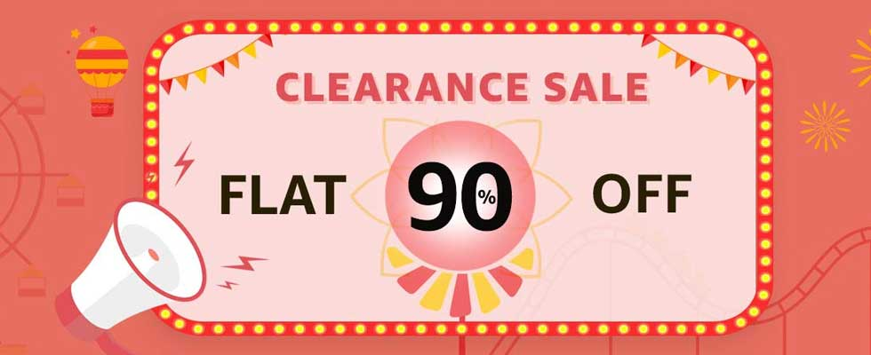 Amazon Clearing Sale- Captivating Discount on Various Categories