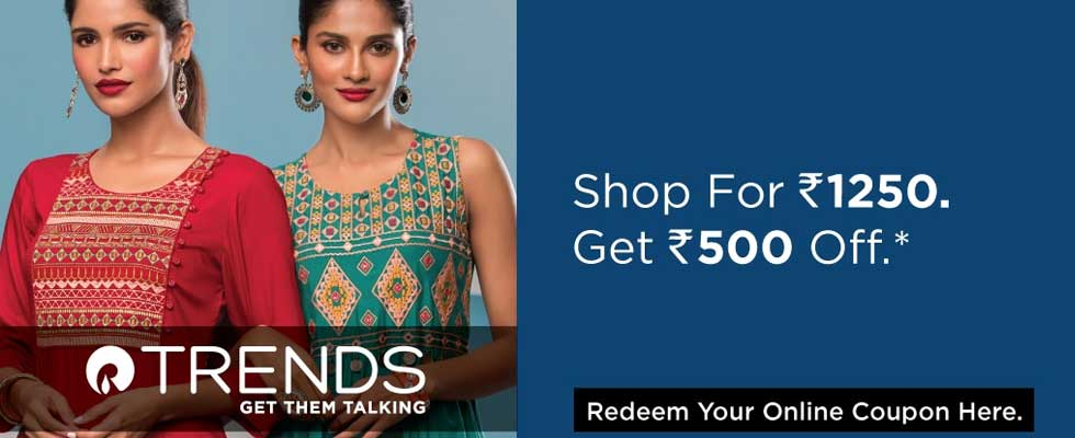 Ajio 500 off on 1250 coupon code: Save Huge on All Categories