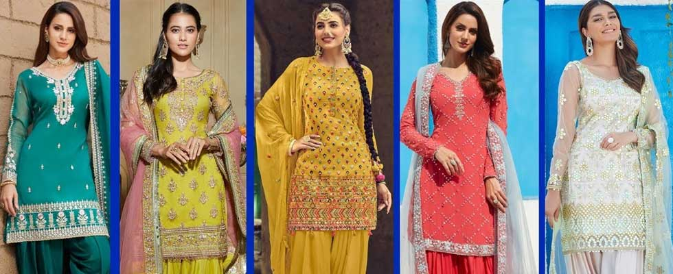 Punjabi Dresses: OFFERS Merging Style With Simplicity