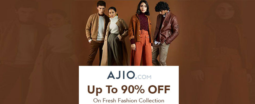 Ajio Upcoming Sales 2021- Opportunity to Save On Big Brands