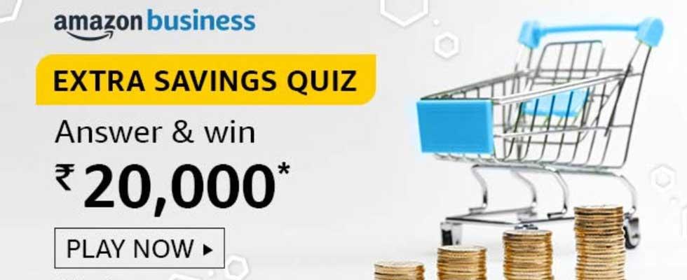 Amazon Business Quiz- Win Exciting Rewards