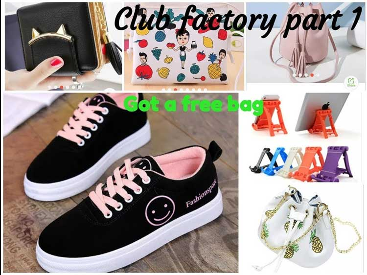 Club Factory Online Shopping