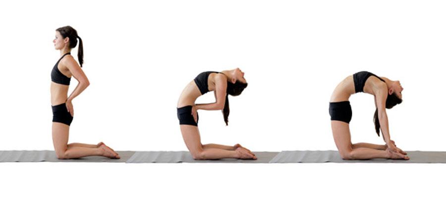 ustrasana yoga exercise